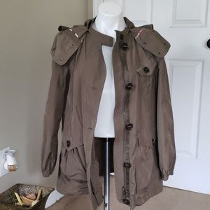 Burberry Brit Light Weight Utility Style Jacket